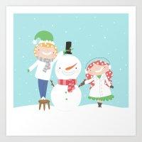Year of Sisters - January - Digital Art Print