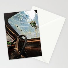 Junkyard Truck. Stationery Cards
