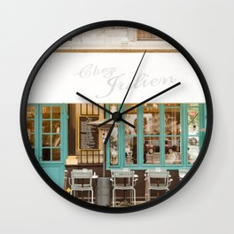 Chez Julien Wall Clock