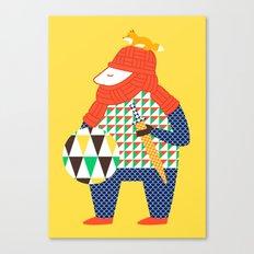 Warrior's Pet Canvas Print