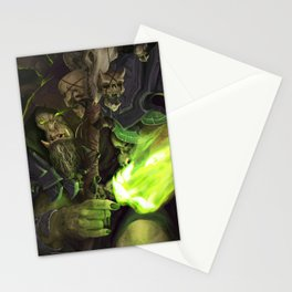 The Great Betrayer Stationery Cards