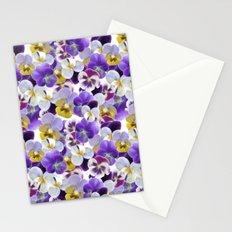 violets Stationery Cards