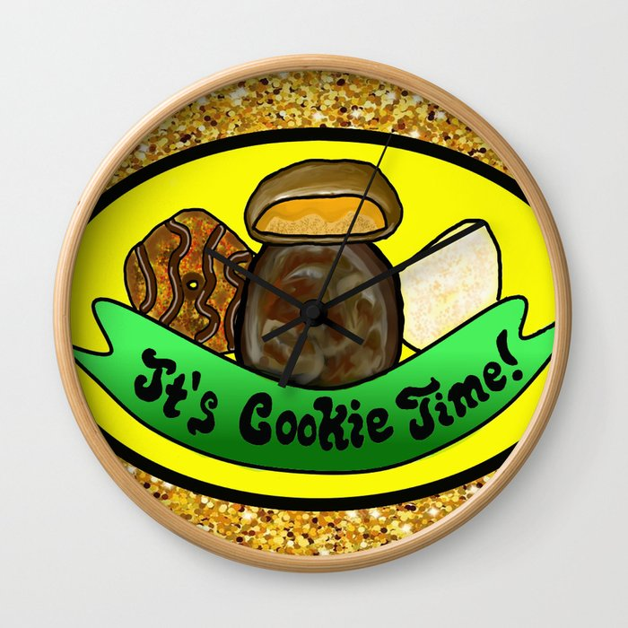It's Cookie Time! Wall Clock