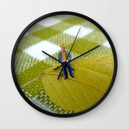 Autumn of Life Wall Clock