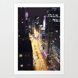 Michigan Ave. Art Print