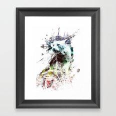 predation instinct Framed Art Print
