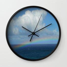 Kapalua Rainbow Wall Clock
