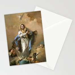 The Immaculate Conception by Giovanni Battista Tiepolo (c 1768) Stationery Cards