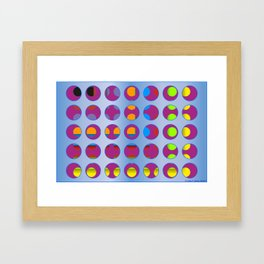 Circ 001B Framed Art Print