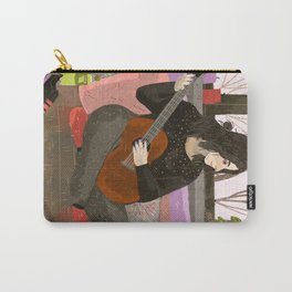 girl with guitar Carry-All Pouch