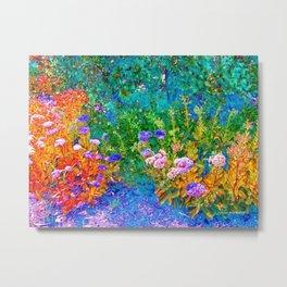 The Garden By Annie Zeno  Metal Print