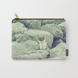 Stoat be Alarmed Carry-All Pouch