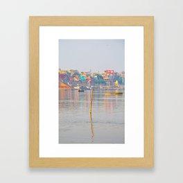 Greatness of the Ganges Framed Art Print