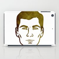 archer iPad Cases featuring Archer by Spooky Dooky