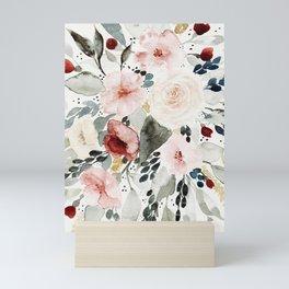 Loose Watercolor Bouquet Mini Art Print