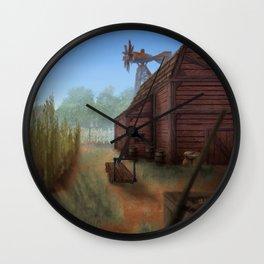 Small Farm Wall Clock