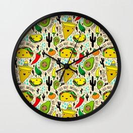 Kawaii Fiesta Wall Clock