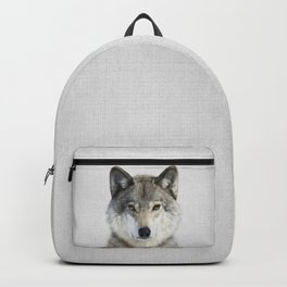 Wolf 2 - Colorful Backpack