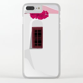 A Piece Of Greece Clear iPhone Case
