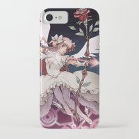 madoka magica iPhone & iPod Cases featuring Puella Magi Madoka Magica by Ravenno
