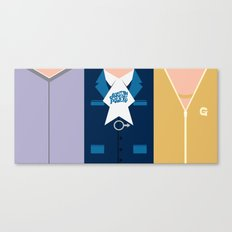 Austin Powers- Trio Canvas Print