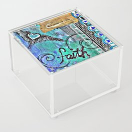 Faith in the Journey Acrylic Box