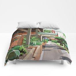 Cactus Cafe Comforters