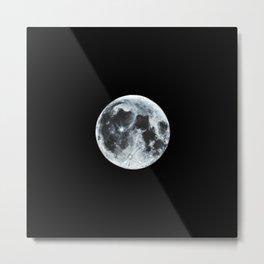 Full Moon Painting Metal Print
