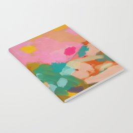 landscape light & color abstract Notebook