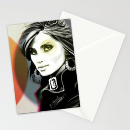 ES, colour Stationery Cards