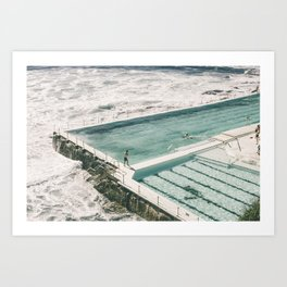 Bondi Icebergs Pool Art Print
