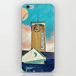 A tower in Shrewsbury with a fantasy twist iPhone Skin