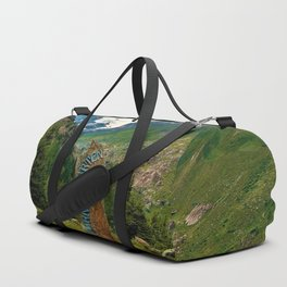 garden further alps kaunertal glacier tyrol austria europe Duffle Bag