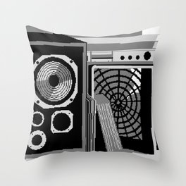 Raster of Young Throw Pillow