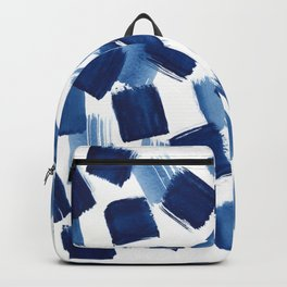 Indigo Brush Strokes | No.1 Backpack