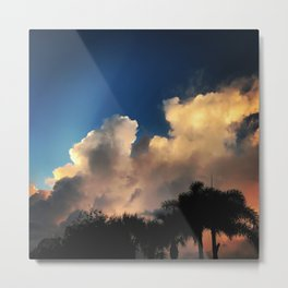 Setting the Sky on Fire Metal Print