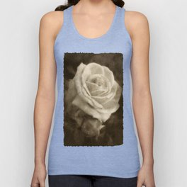 Pink Roses in Anzures 2 Antiqued Unisex Tank Top