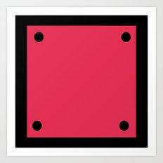 Video Game General Block Art Print