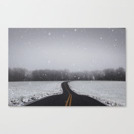 Morning Travels Canvas Print