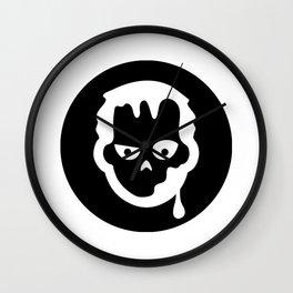 Halloween Zombie Ideology Wall Clock