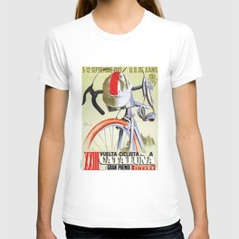 1943 SPAIN Tour Of Catalonia Bicycle Race Poster T-shirt
