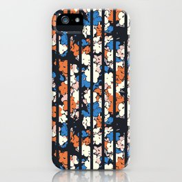 Flower + Vertical Stripe : TM17063 iPhone Case