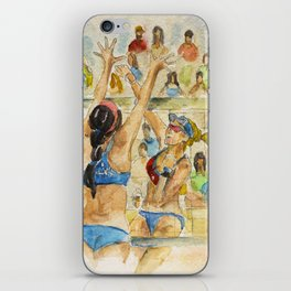Kerri Walsh Jennings - Pro Beach Volleyball player iPhone Skin