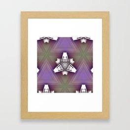 Some Other Mandala 402 Spin-off 2 Framed Art Print
