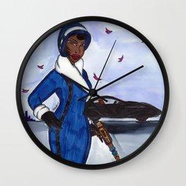 Miss Ross Wall Clock