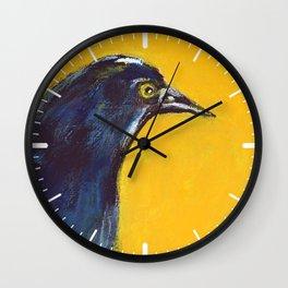 Awakening (American Crow) Wall Clock