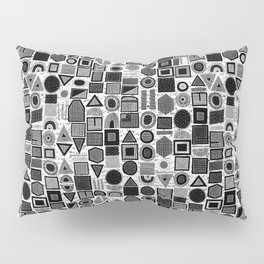 frisson memphis bw inverted Pillow Sham