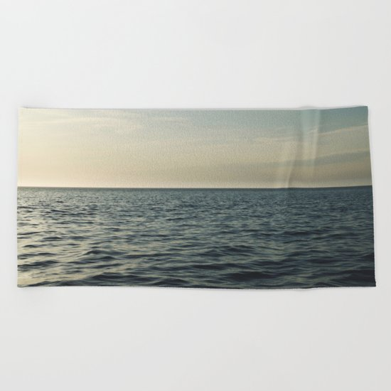 Calm Seas Beach Towel