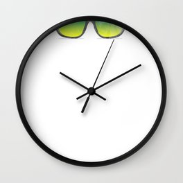 Yup I am the Ring Dude Wedding Day Toddler Boys Wall Clock