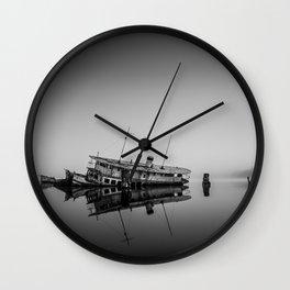 Fog lady Wall Clock